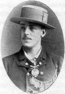 Platz 1892 im Einer, <b>Fritz Miller</b> vom Ulmer RC Donau, außerdem 1895 für <b>...</b> - miller90