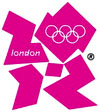 Logo von Olympia 2012 in London